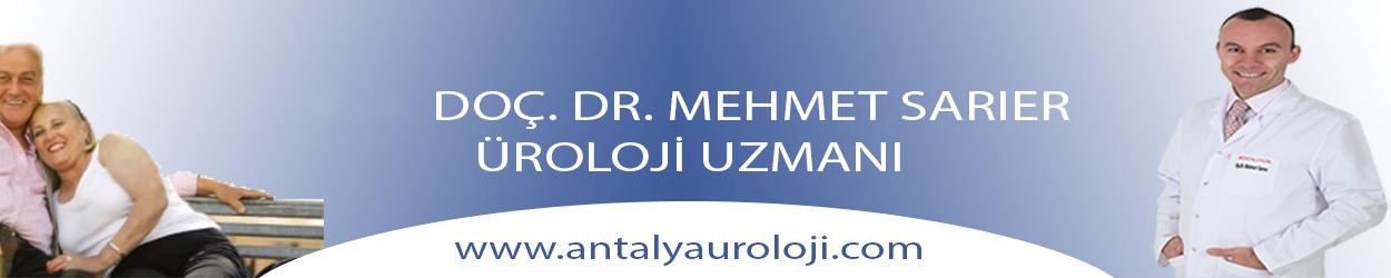 Antalya Üroloji – Doç.Dr. Mehmet Sarıer Logo